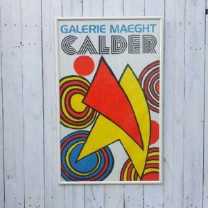 Affiche Calder Galerie Maeght