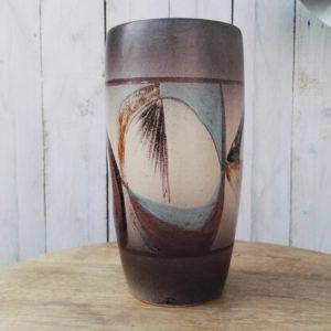 Vase en céramique à décor abstrait par Max Siffredi à Vallauris