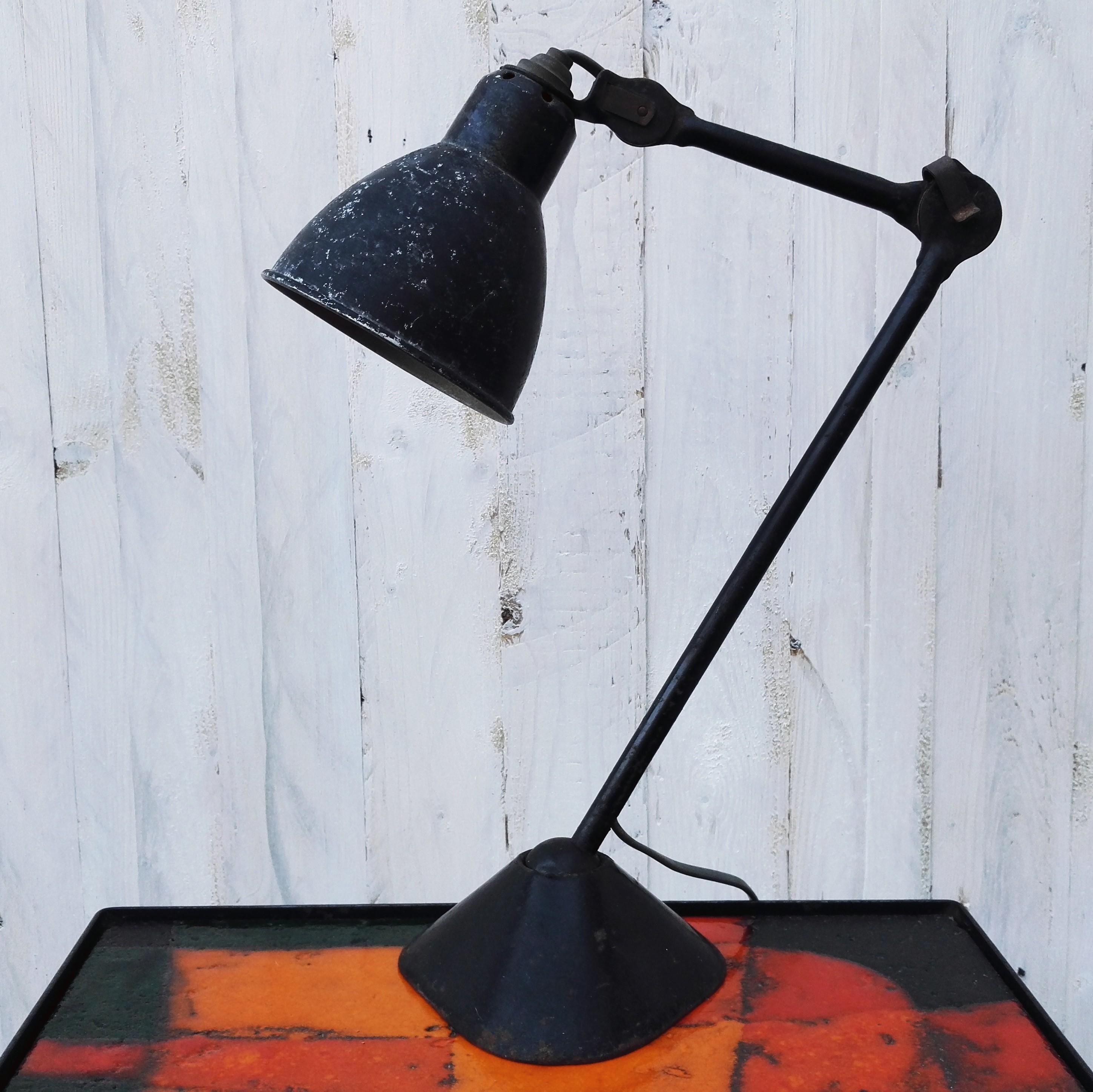Ancienne Lampe Gras 205 Design Atelier Acolytes Antique
