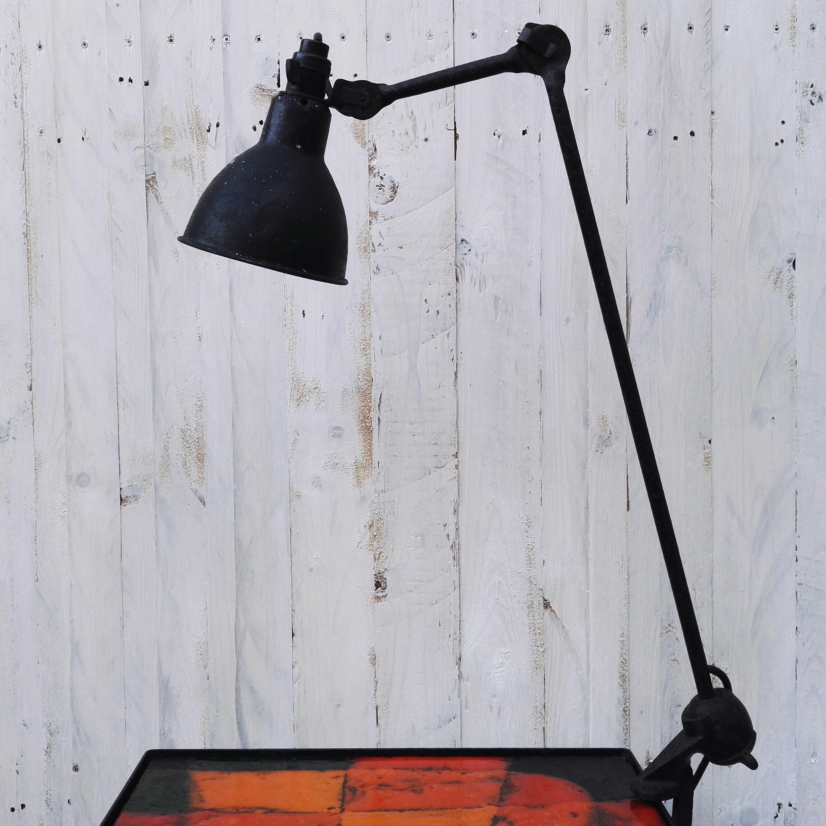 Ancienne Lampe Gras 201 Design Atelier Acolytes Antique